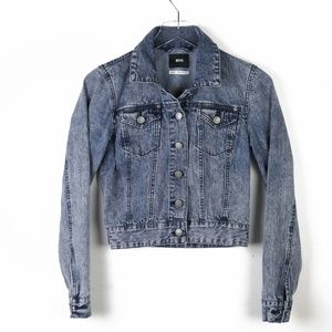 urban outfitters bdg ▪️ acid wash jean jacket